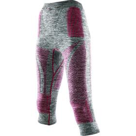 X-Bionic Accumulator Evo Melange UW Medium Pants Women light grey melange/raspberry
